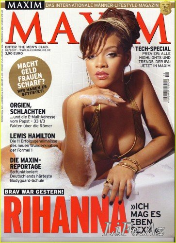 Риана - Rihanna in Maxim [6 сканов]