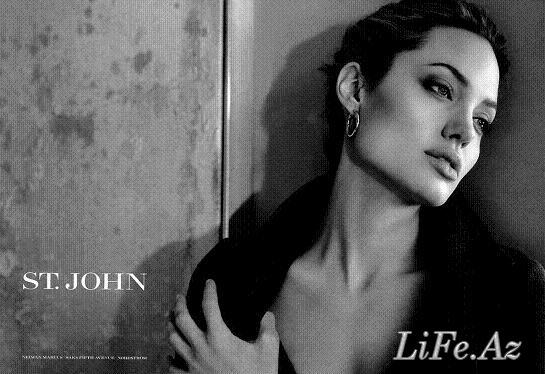 Angelina Jolie - Анджелина Джоли в St.John [8 фото]