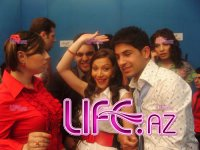 Azeri Star 2008 - 5-ая неделя, участники  на сцене и за кулисами. [25 фото]