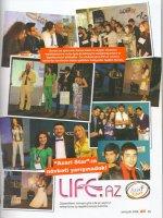 Участники AzeriStar 2008 в журнале Jest - September 2008 при поддержке LiFe.Az