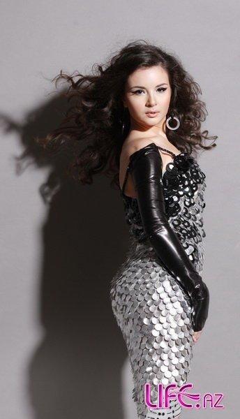 Новый фотосет красавицы Айсель Теймурзаде - Aysel Teymurzade - Eurovision Azerbaijan 2009 [8 фото]