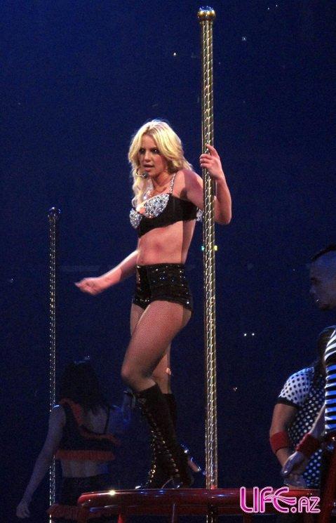Бритни Спирс начала мировое турне с Нового Орлеана
