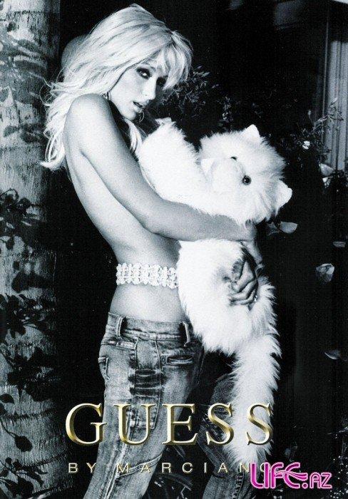 Пэрис Хилтон в рекламе Guess
