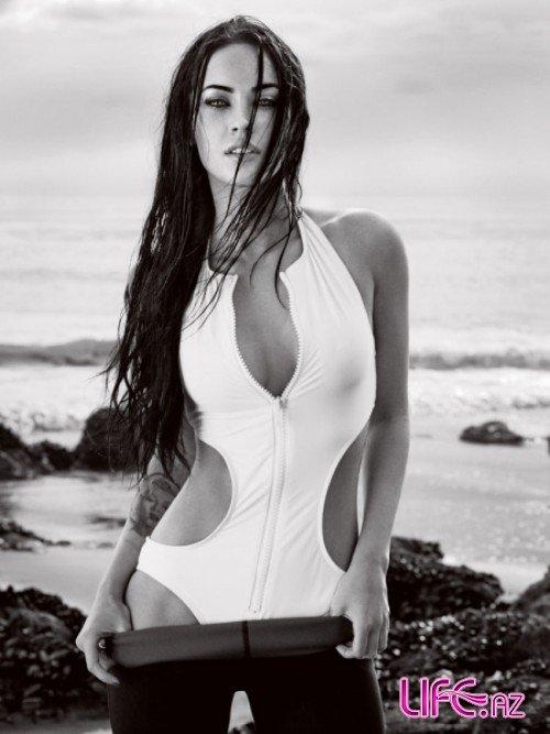 Меган Фокс в журнале Elle. Июнь 2009 [5 фото]