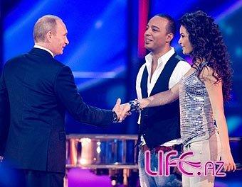 Путин пожелал успехов Айсель и Арашу [Фото][Видео]
