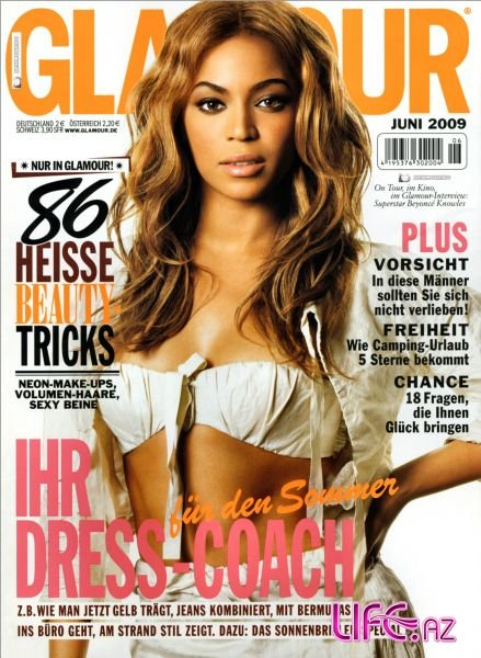 Бейонсе Ноулз (Beyonce) в журнале Glamour Германия. Июнь 2009 [3 фото]