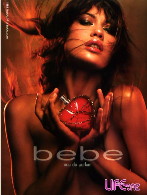 Ольга Куриленко в рекламе Bebe