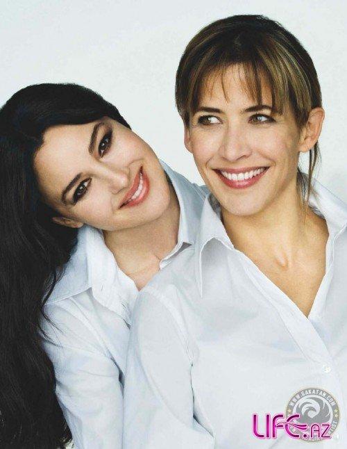 Моника Беллуччи и Софи Марсо для журнала Paris Match. Май 2009 [4 фото]