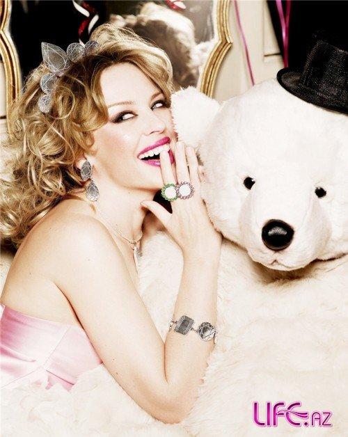 Кайли Миноуг в рекламной кампании Tous