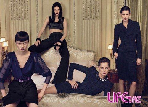 Адриана Лима в рекламе Givenchy