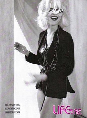 Ева Герцигова в итальянском Vogue