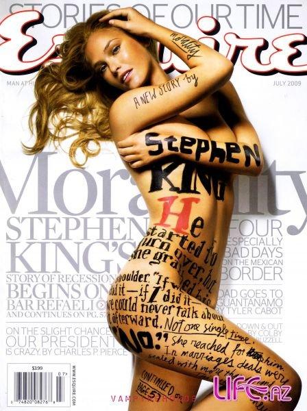 Бар Рафаели в журнале Esquire Июль 2009 [3 фото]