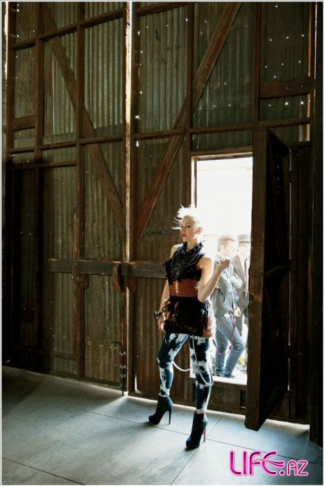 Гвен Стефани в журнале Elle. США. Июль 2009