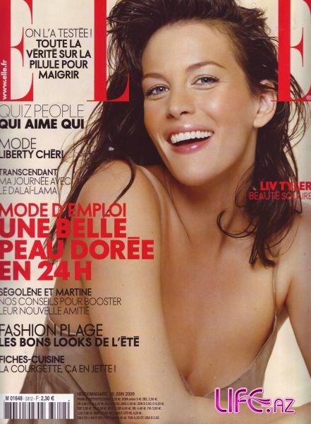 Lyv Tyler - Лив Тайлер в журнале Elle. Франция. Июнь 2009