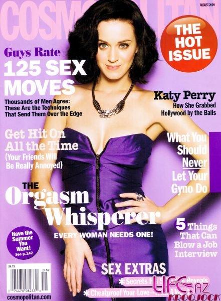 Кэти Перри в журнале Cosmopolitan. Август 2009