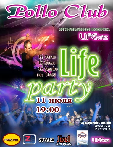 LifeParty in Pollo Club - 11 July