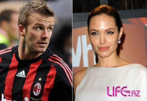 Дэвид Бэкхем не хочет сниматься вместе с Анджелиной Джоли