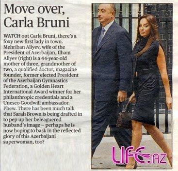 Посторонись, Карла Бруни  - The Evening Standard [Фото]
