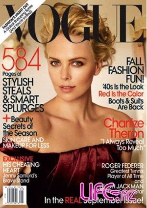 Шарлиз Терон в сентябрьском Vogue