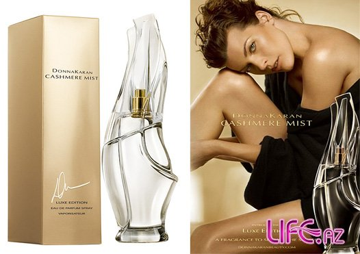 Милла Йовович в рекламе нового аромата Donna Karan