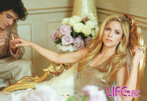 Шакира в октябрьском Vanity Fair