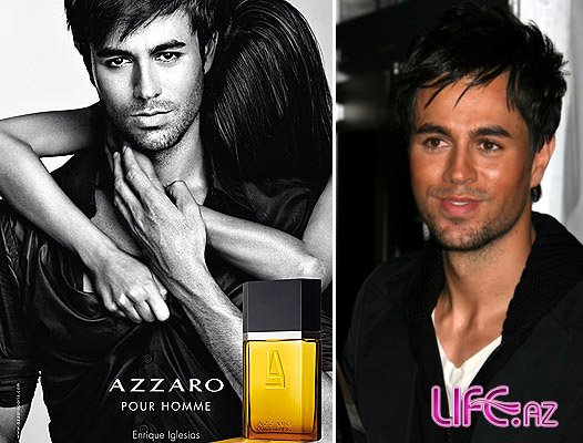 Энрике Иглесиас в рекламе аромата Azzaro Pour Homme