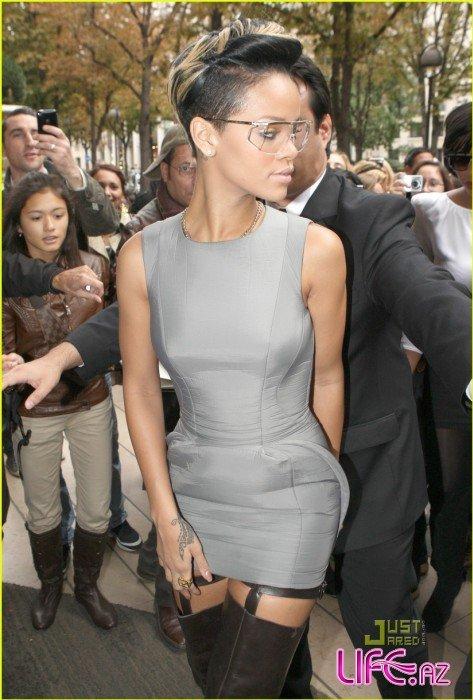 Рианна во время недели моды в Париже