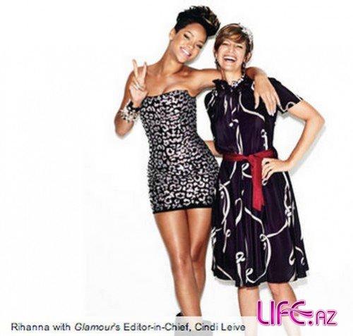 Рианна в журнале Glamour. Декабрь 2009 [Интервью + Фото]