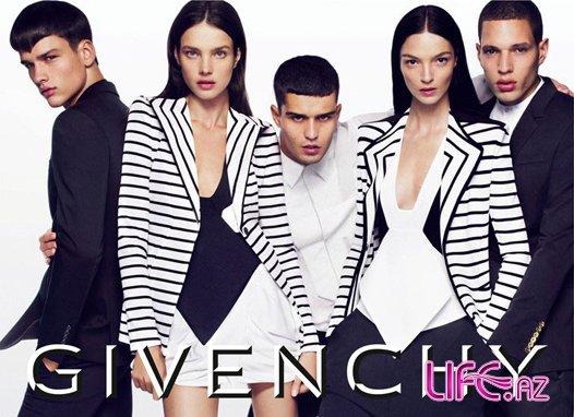 Брюнетка Наталья Водянова в новой рекламе Givenchy