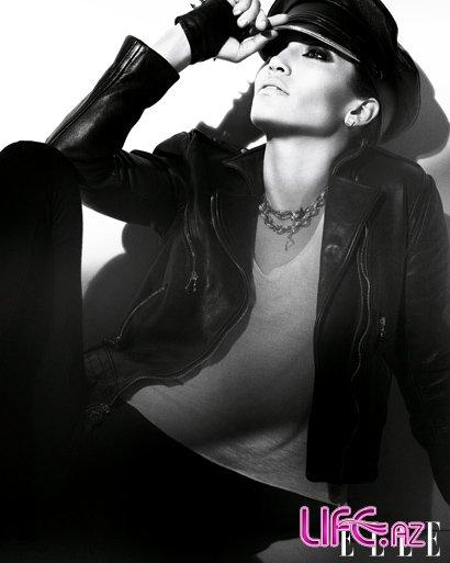 Дженнифер Лопес в журнале Elle. Февраль 2010