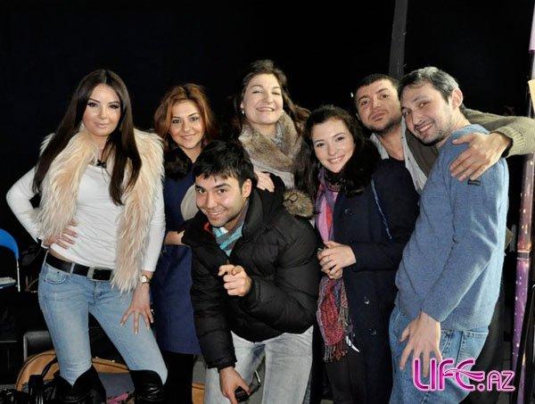 Кандидаты от Азербайджана на «Евровидение 2010» на Dostum Show [9 фото]