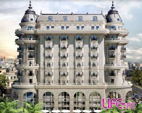 Макеты отеля Four Season в Баку [3 фото]