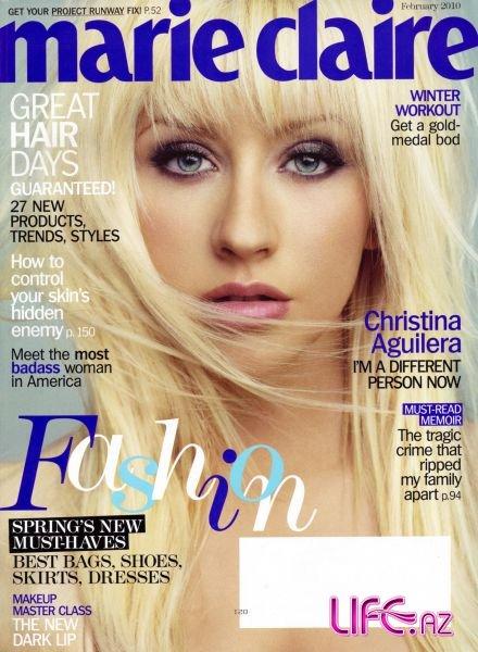 Кристина Агилера в журнале Marie Claire. Февраль 2010