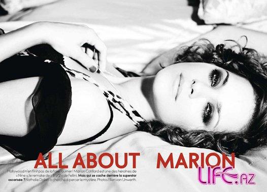 Марион Котийяр (Marion Cotillard) в журнале Elle [10 фото]