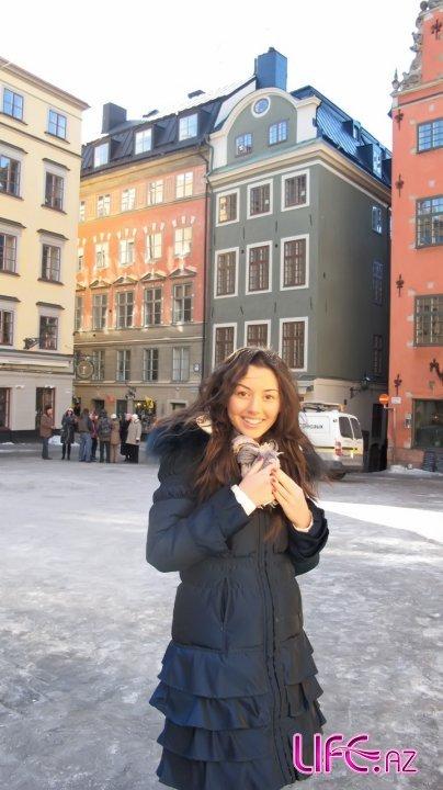 Прогулка Сафуры по Стокгольму [13 фото]