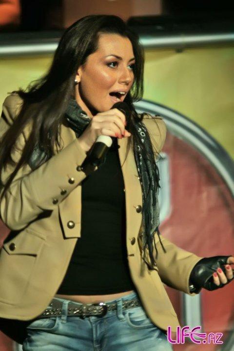 Сафура Ализаде приняла участие в киевском ночном клубе [9 фото]