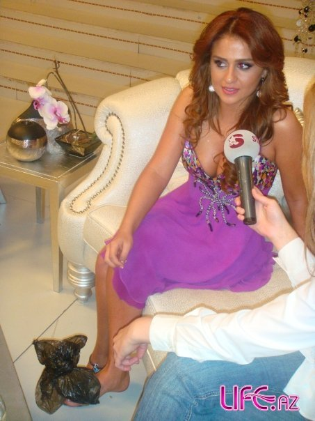 Гюнель Зейналова (Azeri Kizi Gunel) на разных турецких телепередачах [35 фото]