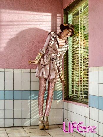 Кукольная Милла Йовович в Harper's Bazaar