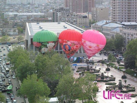 В Баку над городом поднимутся воздушные шары [2 фото]