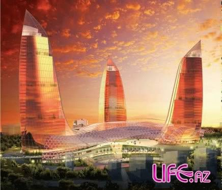 Flame Towers in Baku [3 фото]