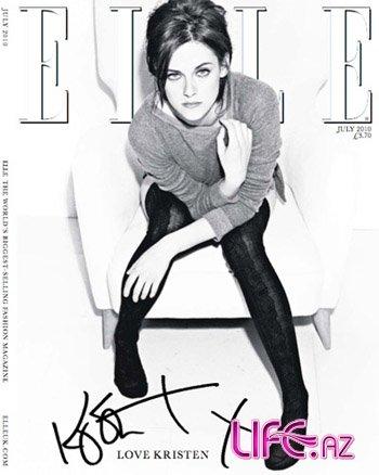 Невеселая Кристен Стюарт в британском Elle [10 фото]