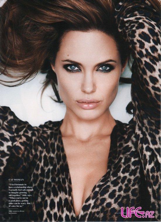 """Анджелина Джоли в Vanity Fair: """"Я покидаю Голливуд"""""""