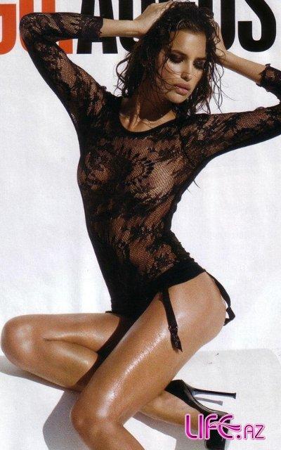 Ирина Шейк в журнале GQ Африка. Август 2010