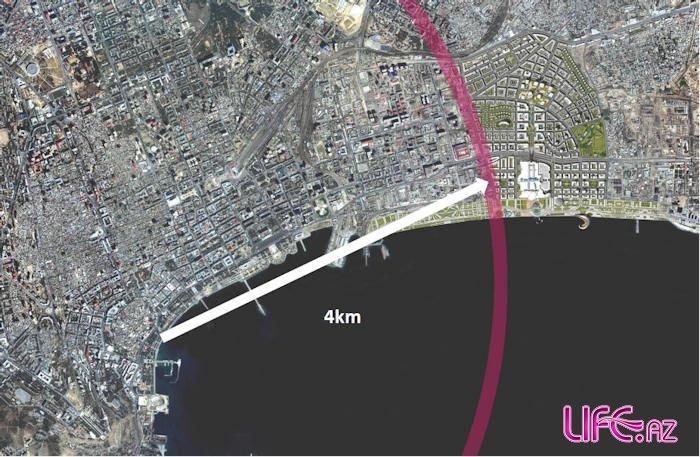 Проект «Белый» город» «Ağ Şəhər» «Baku White City» [фото]