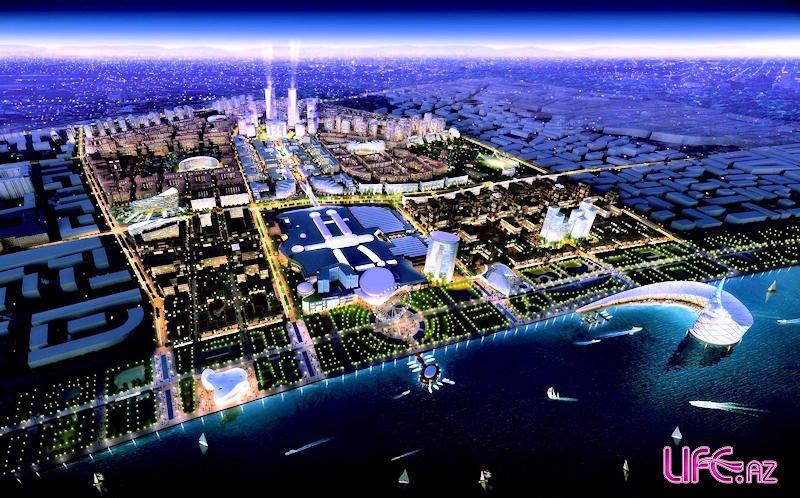 Проект «Белый» город» «Ağ Şəhər» «Baku White City» [фот ...