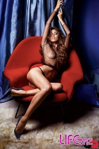 Девушка Криштиану Роналду в откровенном фотосете для журнала GQ Сентябрь 20 ...