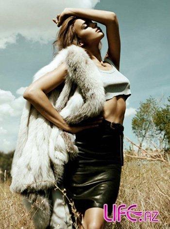 Ирина Шейк в испанском Elle [6 фото]