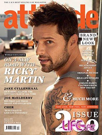 Рики Мартин: именинник в журнале Attitude