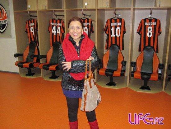 Тунзаля Агаева побывала на Украине [Фото]