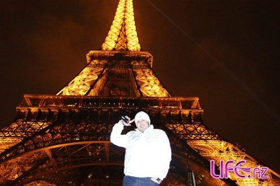 Певец Эльнур посетил Париж [Фото]